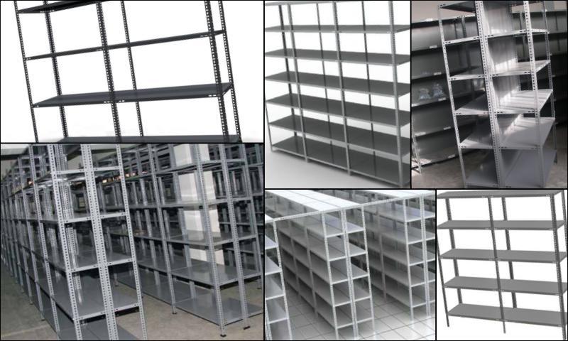 İkinci El Çelik Raf Sistem Ve Modelleri