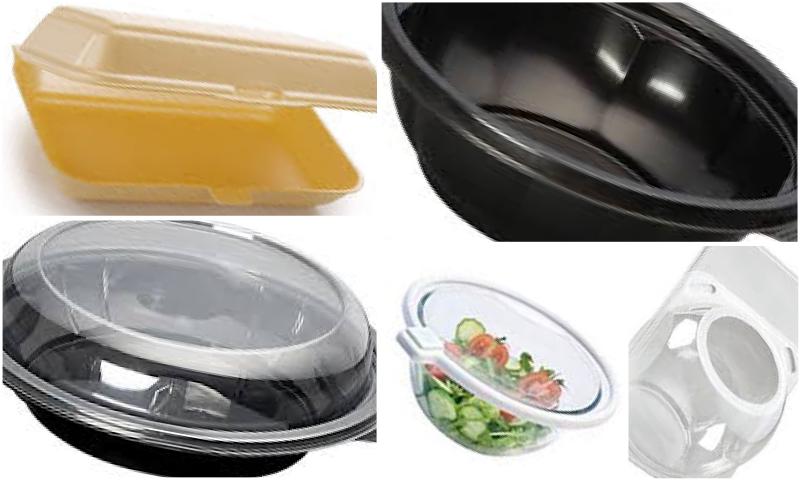 Plastik Yemek Kabı