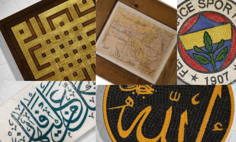Hediyelik Cam Mozaik 2