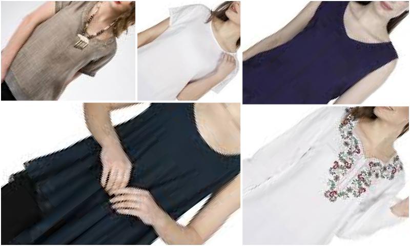 Helezon Desen Bluz Modelleri